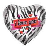 """18"""" Zebra Kärlek"""