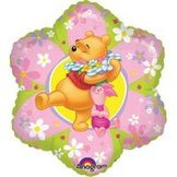 "18"" Nalle Puh Friendly Flower 45 cm"