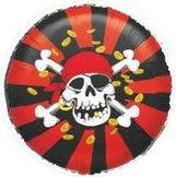 "18"" Pirat Jolly Roger 45 cm"