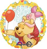 "18"" Nalle Puh & Nasse Celebration 45cm"
