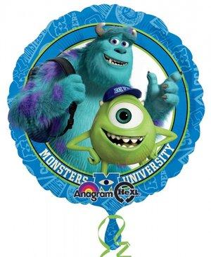 "18"" Heliumfylld Monsters University 45 cm"