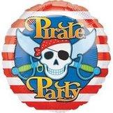 "18"" Heliumfylld Pirate Party 45 cm"