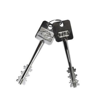 Vapenskåp SP8 Mini Svart med nyckellås+LED