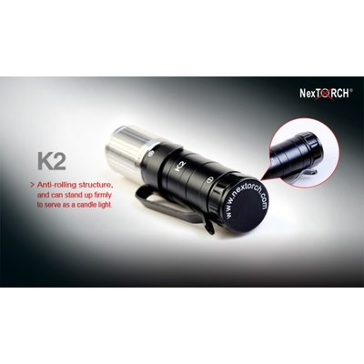 Nextorch K2 Professional LED-lampa i pocket-format
