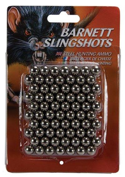 Barnett Slingshot stålammunition