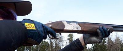 Skyttehandskar i läder (parvis)