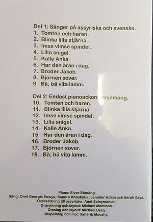 Barnsånger på assyriska och svenska