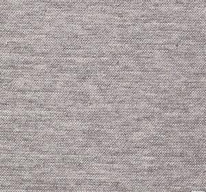 Stretchjersey ljusgrå melerad