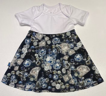 Body-klänning Diamanter & Pärlor, 68