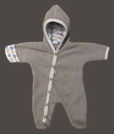 Fleece-overall Beige, stl 44