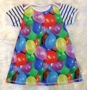 Klänning Vattenballonger, stl 98
