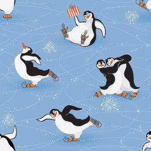 Pingviner Isdans - EKOLOGISKT
