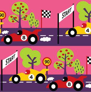 Racecar rosa