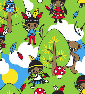 10 små indianer
