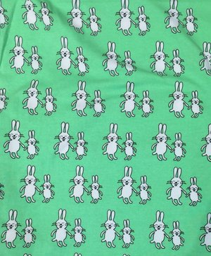 Funny Bunny grön - EKOLOGISK