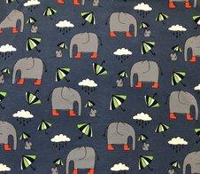 Elefant i gummistövlar