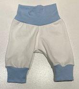 Yogapants vita med ljusblå muddar, 50