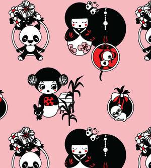 Geisha & Pandor rosa