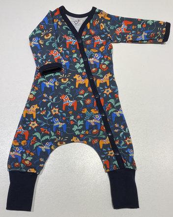 Baggy-dress Leksand mini mörkblå, 56