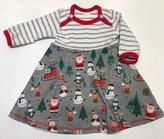 Body-klänning Jul grå, 56