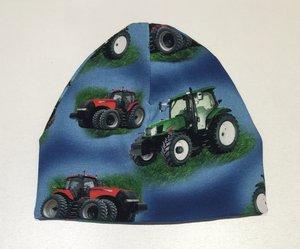 Mössa Traktorer blå, 42/44