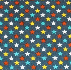 Eulenquartett Stars petrol - EKOLOGISKT