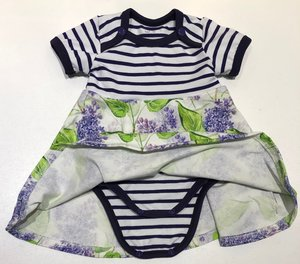 Body-klänning Syrén, 56