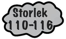 Storlek 110-116