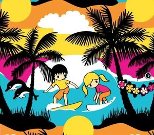 Summer Surf - EKOLOGISKT