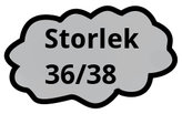 Storlek 36/38