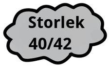 Storlek 40/42