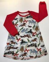 Klänning Jul-ponny, 92