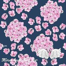 Hortensia marin/rosa