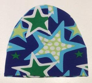Mössa Stars blå, 50/52