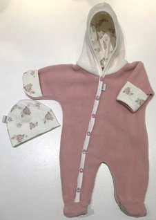 Fleece-overall Gammelrosa, 44/46