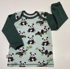 Tröja Panda mint, 80
