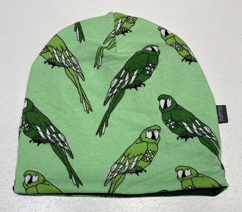 Mössa Fåglar grön, 46/48