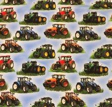 Flerfärgade Traktorer