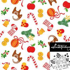 Jul igen - vit