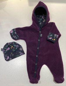 Fleece-overall Lila, 44/46