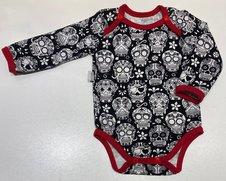 Body Skulls & Heart svart, 68