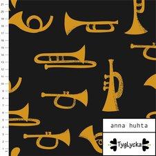 Trumpets dark grey - Ekologiskt