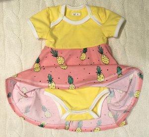 Body-klänning Ananas, 56