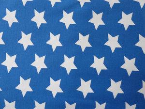 Cobolt jersey med vita stjärnor