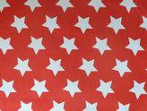 Röd jersey med vita stjärnor