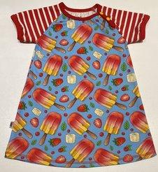 Klänning Jordgubbsglass, 98