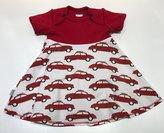 Body-klänning Röda bilar, 68