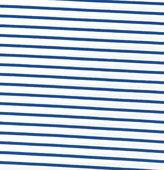 Vit/klarblå randig jersey