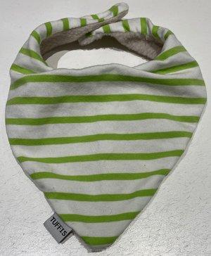 Dregglis vit/grön ränder