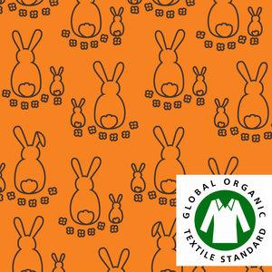 Kaniner orange/brun - EKOLOGISKT